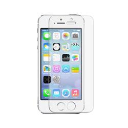 محافظ صفحه نمایش شیشه ای فول چسب اپل iPhone 5