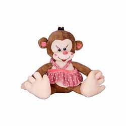 عروسک میمون چشم درشت هپی تویز