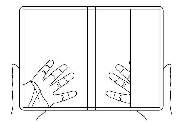 ال جی پتنت جدیدی از گوشی تاشدنی شفاف را ثبت کرد