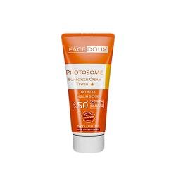 كرم ضد آفتاب بژ روشن فتوزوم فیس دوکس Photosome Sunscreen SPF50