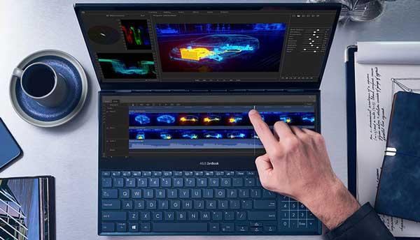 ایسوس از لپتاپی با دو صفحه نمایش رونمایی کرد