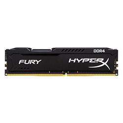 حافظه رم کامپیوتر کینگ استون HyperX FURY DDR4 4GB 2400MHz CL15 Single Channel
