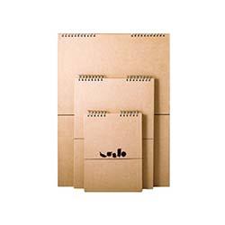 دفتر طراحی دو رو  جلد سخت سایز A5 آوای مهر 2183