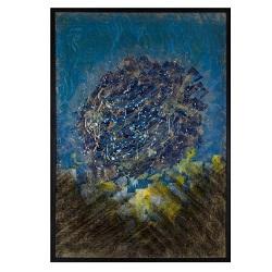 تابلو نقاشی خط بهانه گیتی کد 130