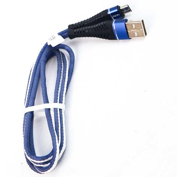 کابل تبدیل USB به MicroUSB تسکو مدل TC A72
