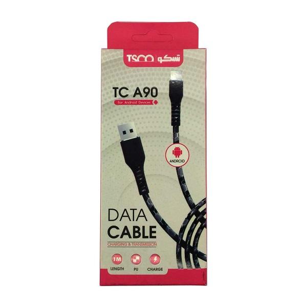 کابل تبدیل USB به MicroUSB تسکو مدل TC A90