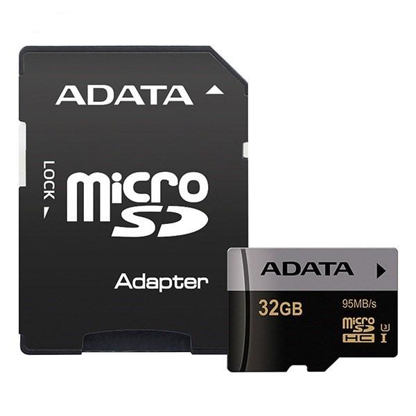 کارت حافظه ای دیتا Premier Pro Micro XPG UHS-I U3 Class 10 - 32GB