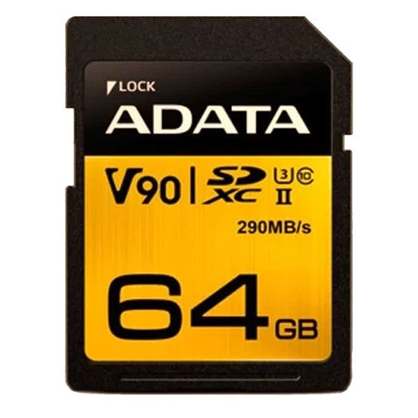 کارت حافظه ای دیتا Premier One UHS-II U3 Class 10 - 64GB