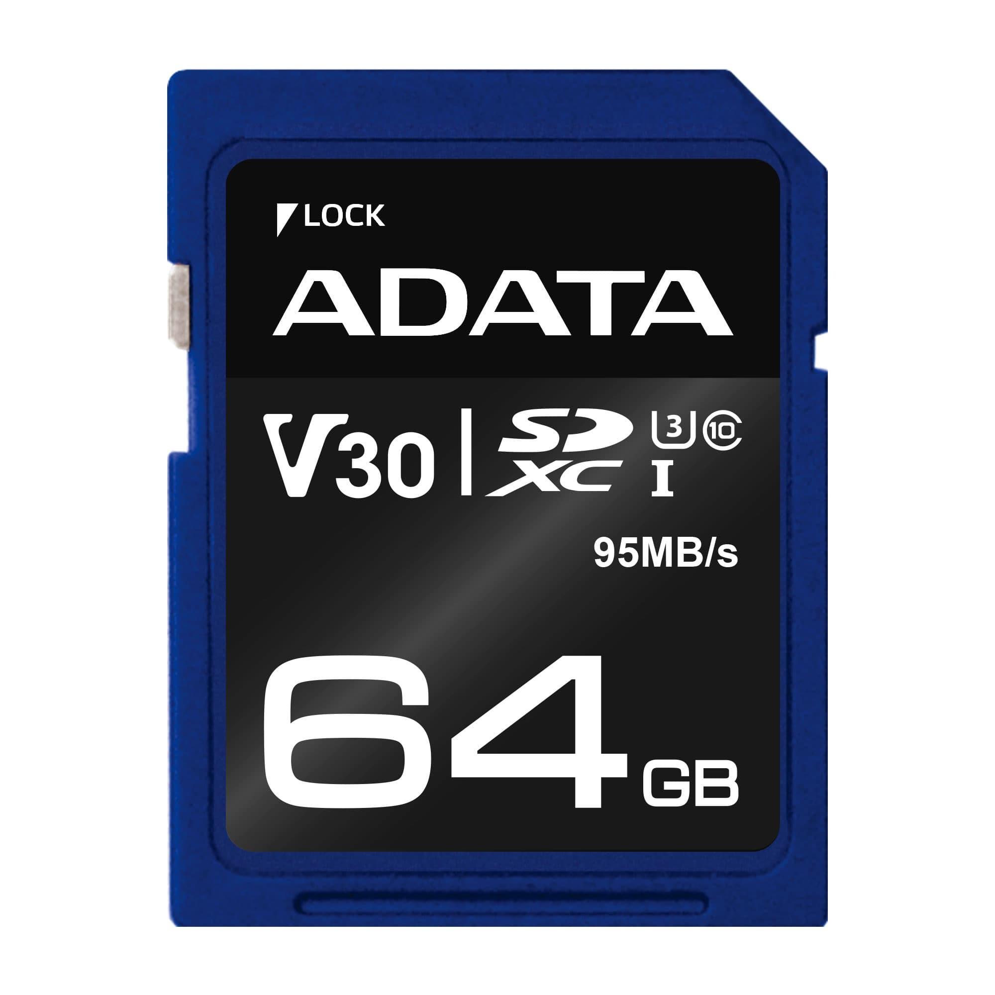 کارت حافظه ای دیتا Premier Pro UHS-I U3 Class 10 - 64GB