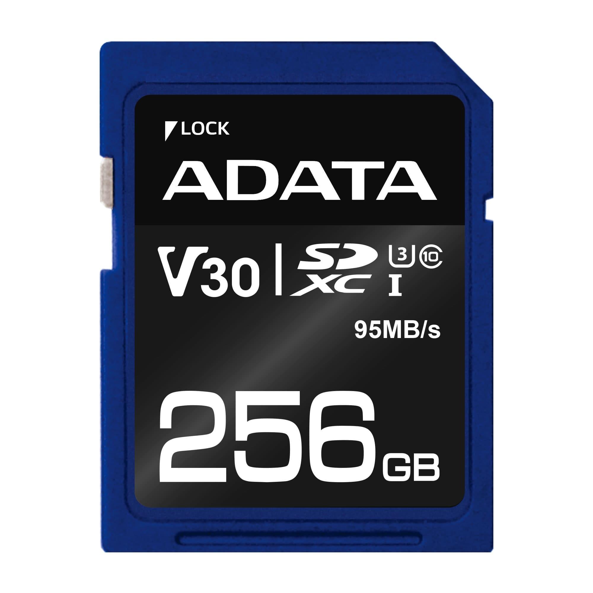 کارت حافظه ای دیتا Premier Pro UHS-I U3 Class 10 - 256GB