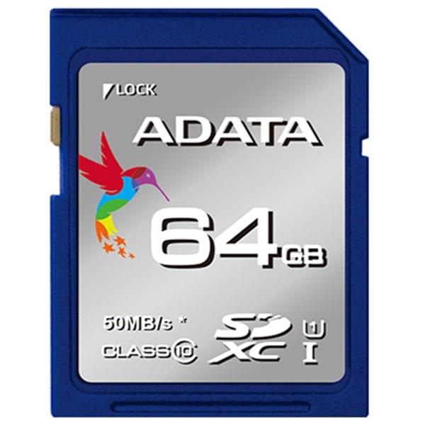 کارت حافظه ای دیتا Premier UHS-I Class10 - 64GB