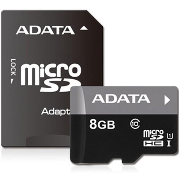 کارت حافظه ای دیتا Premier Micro UHS-I Class 10 - 8GB+Adapter