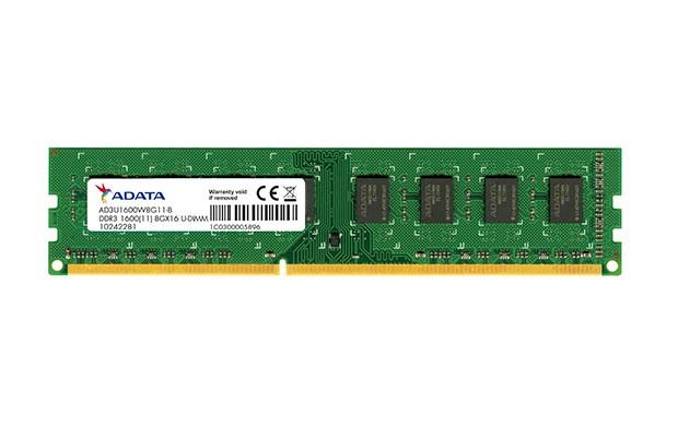 حافظه رم ای دیتا Premier DDR3 1600MHz - 8GB
