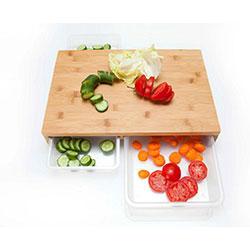 تخته گوشت و سبزیجات کشویی آچین 518