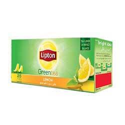 چای سبز لیپتون با طعم لیمو  Lemon Green Tea
