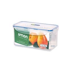 ظرف فریزری مستطیلی 3/4 لیتر لیمون 82235