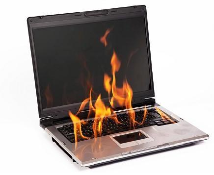 صدمات ناشی از داغ شدن لپ تاپ و راه های مقابله با آن