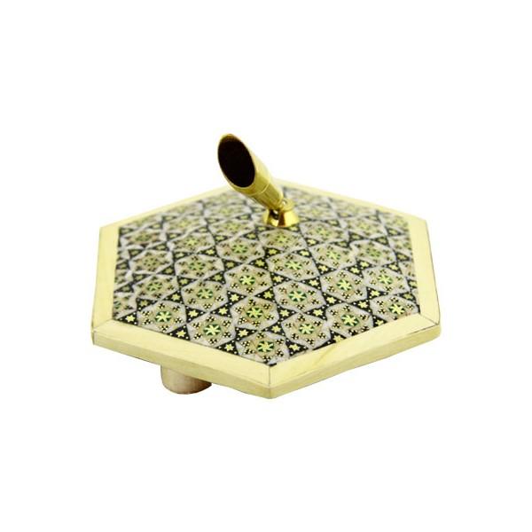 جاقلمی تکی برنجی برند اصفهان خاتم