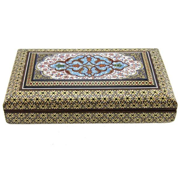 جعبه 14 در 22 برند اصفهان خاتم