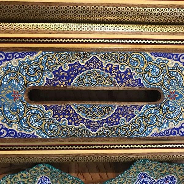 جا دستمال کاغذی برند نقش نگار اصفهان