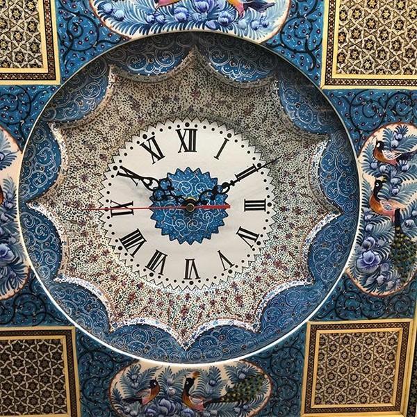 ساعت میناکاری برند نقش نگار اصفهان