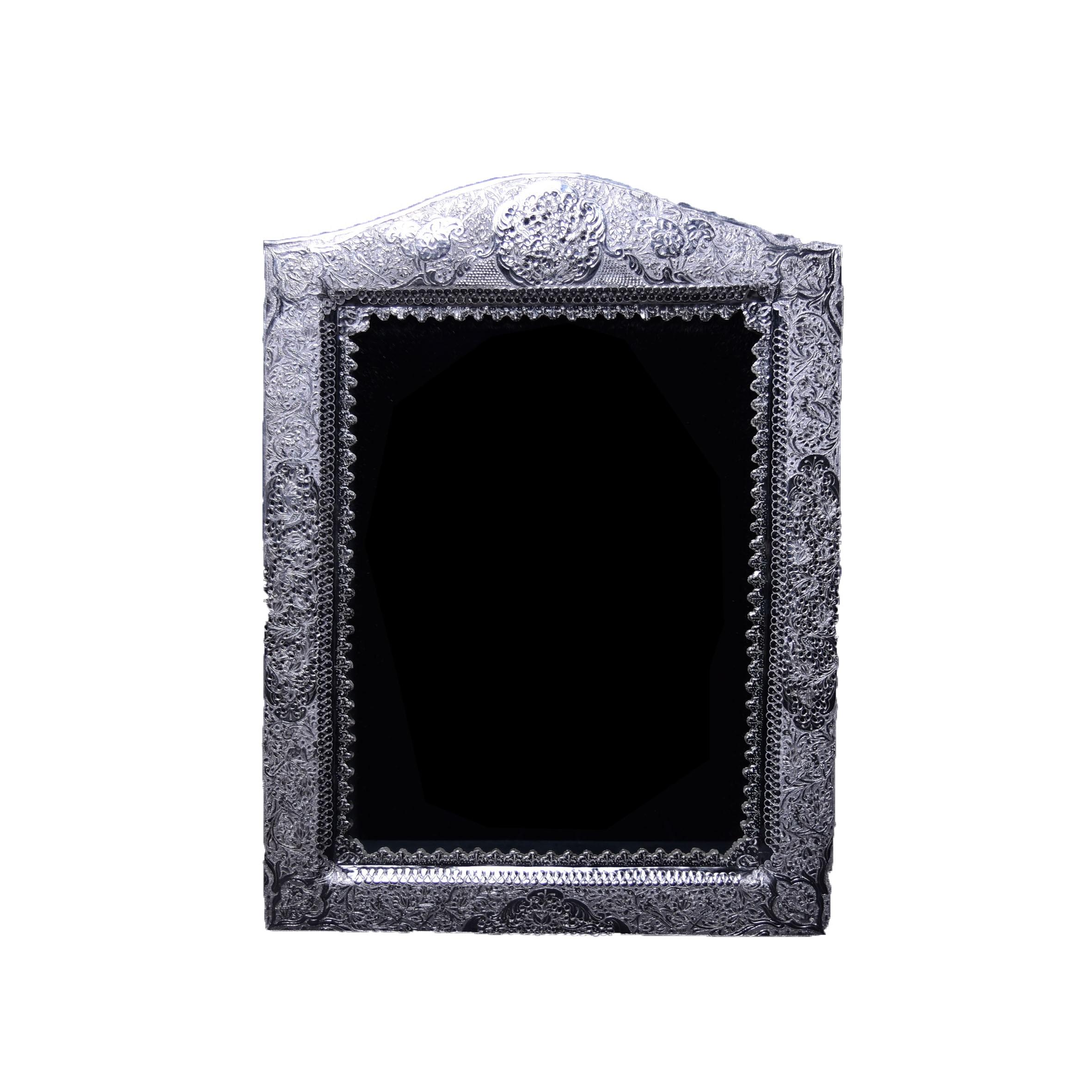 آینه تاج هلالی نقره اهتمام S141010069