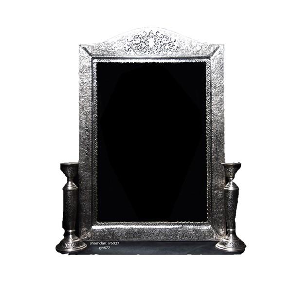 آینه شمعدان نقره اهتمام 70022