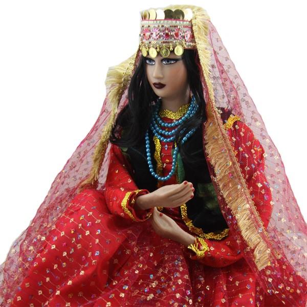 عروسک سنتی زن عشایر برند اصفهان خاتم