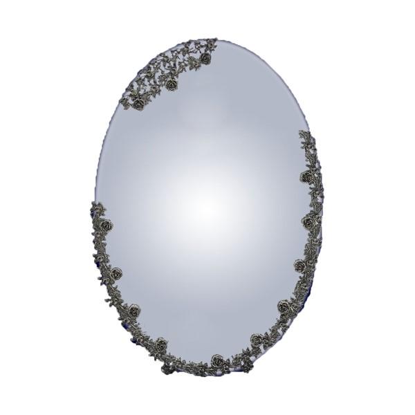 آینه گلرز کریستال نقره اهتمام S161110017