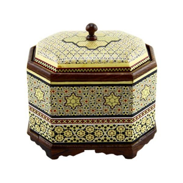 شکلات خوری خاتم کاری برند اصفهان خاتم