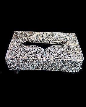 جعبه دستمال ملیله 509240032 برند گوهردان