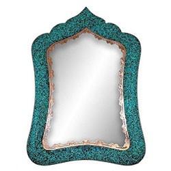 آینه مستطیل شماره 5 فیروزه کوب برند آقاجانی