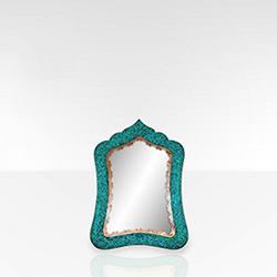 آینه مستطیل متوسط سایز ۲ فیروزه کوب برند نورمهر