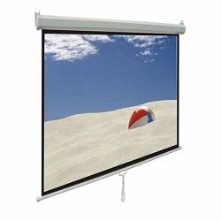 پرده نمایش دستی سقفی دیواری رفلکتا 250x250 سانتیمتر
