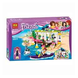 لگو دخترانه قایق تفریحی 188 تیکه بلا 10757 Friend