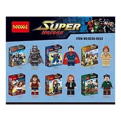 لگو پسرانه قهرمانان دیکول 0238 0243 SUPER HERO
