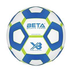 توپ فوتبال چرمی بتا سایز مخصوص X3 futsal