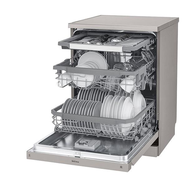 ماشین ظرفشویی ایستاده ال جی XD90S