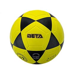 توپ فوتبال چرمی بتا سایز مخصوص 999 PFSL3.5