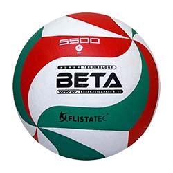 توپ والیبال چرمی بتا سایز مخصوص 5500 PVL