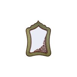 آینه مستطیل 3 مس و خاتم برند آقاجانی K034
