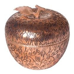قندان مسی زنجان طرح سیب 599