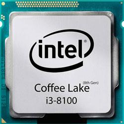 پردازنده اینتل Intel Core i3-8100