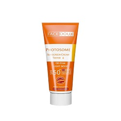 کرم ضد آفتاب فتوزوم ⁺SPF 50 فیس دوکس رنگی بژ روشن Photosome Sunscreen SPF50