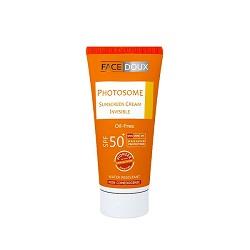 كرم ضد آفتاب بژ متوسط فتوزوم فیس دوکس Photosome Sunscreen SPF50
