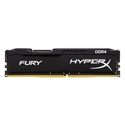 حافظه رم کامپیوتر کینگ استون HyperX FURY DDR4 16GB 2400MHz CL15 Single Channel