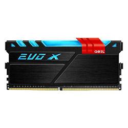 حافظه رم کامپیوتر گیل EVO X DDR4 RGB 4GB 2400Mhz CL16 Single Channel