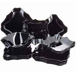سرویس آرکوپال 19 پارچه کامل آتنتیک سیاه لومینارک