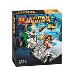 لگو پسرانه 93 تیکه بلا 10669 SUPER HERO