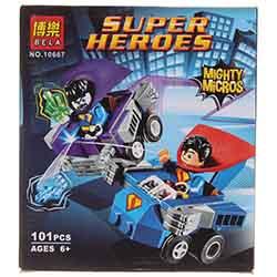 لگو پسرانه 101 تیکه بلا 10667 SUPER HERO